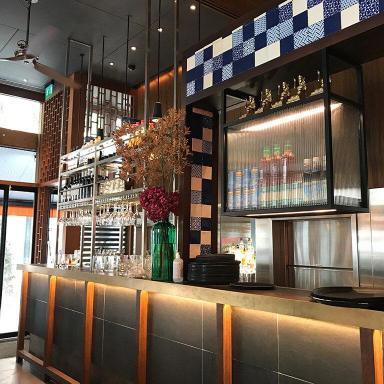 busaba bloomsbury bar area