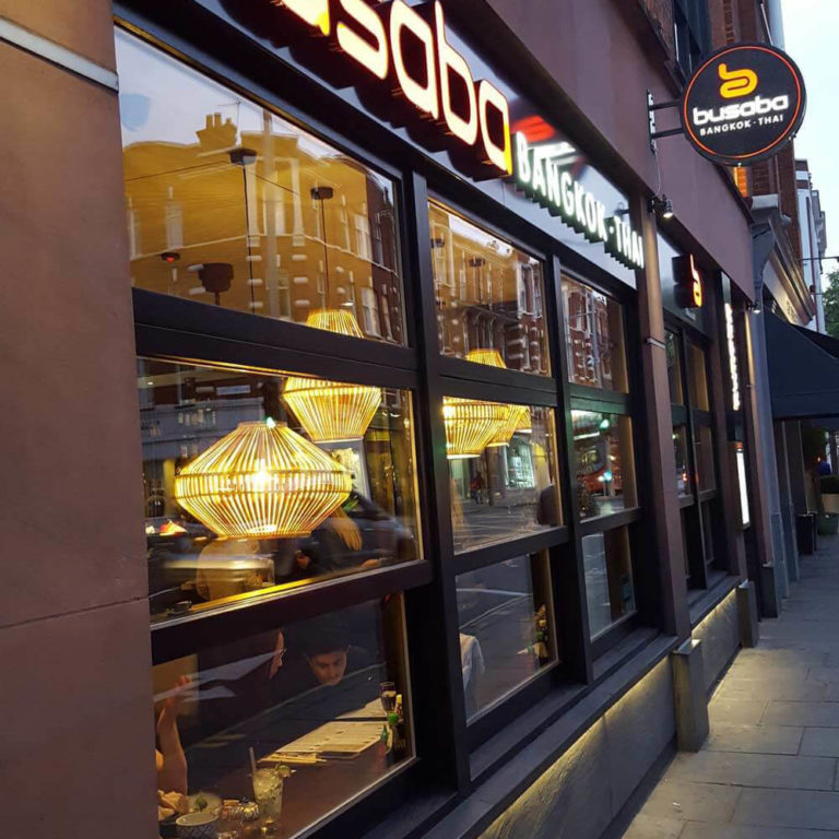 Exterior of Busaba Chelsea
