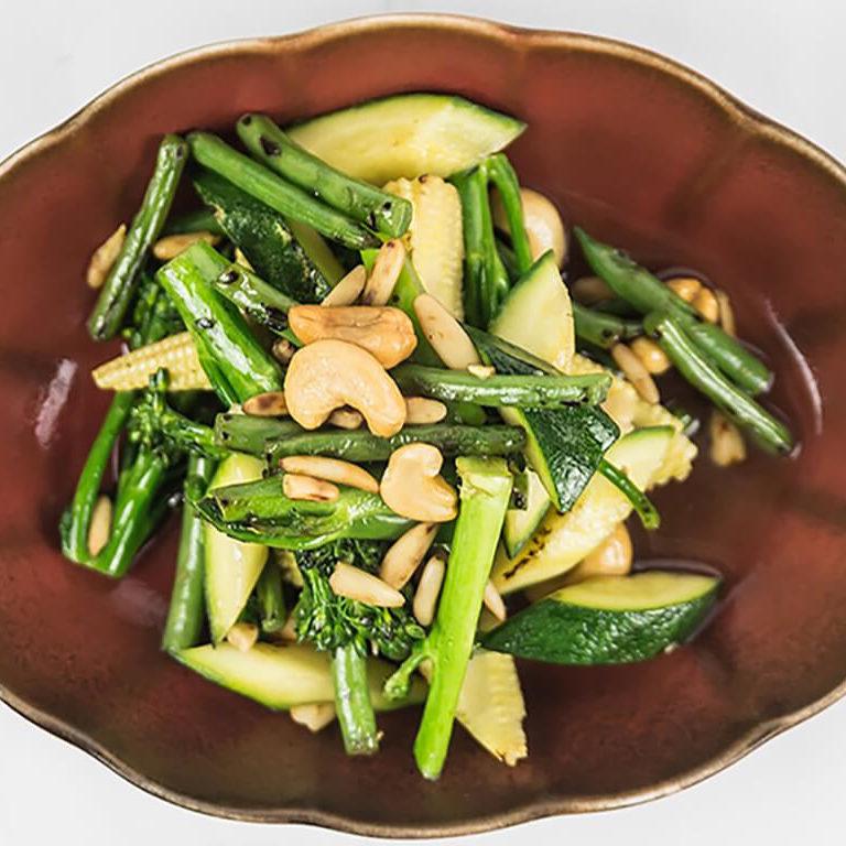mixed asian greens