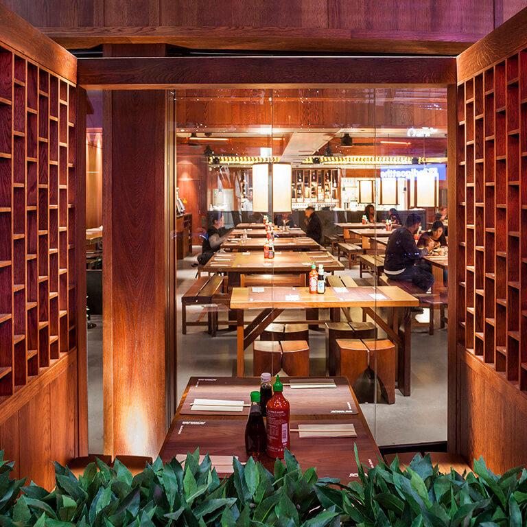 busaba o2 private dining area