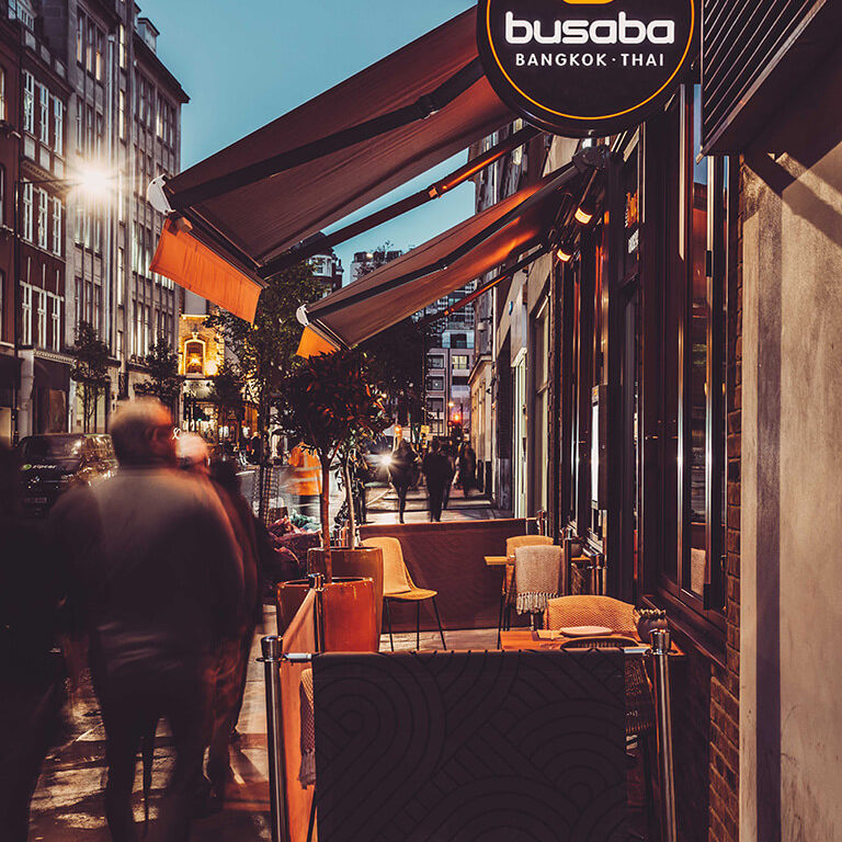 busaba oxford circus entrance