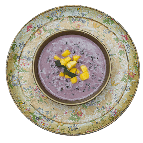 thai black rice pudding