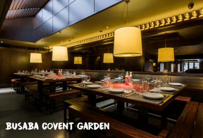 busaba covent garden interior